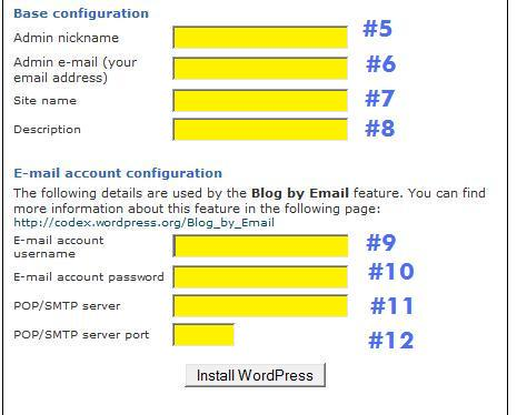 WordPress Set Up in Bluehost Fantastico