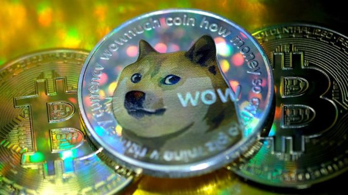 Dogecoin started as a joke, but the punchline is the rest of the crypto market